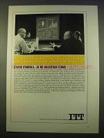 1963 ITT Ad - Status Symbols in No Uncertain Terms