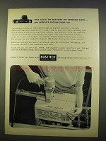 1963 Bostitch Air-Drive Wide-Crown Stapler Ad - Facts