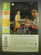 1963 Republic Steel Ad - Easy Street Living