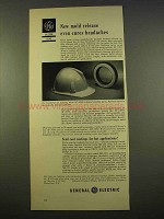 1963 General Electric Silicone Ad - Mold Release Cures