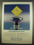 1963 Sylvania Logic Block Ad - On the Head of a Pin