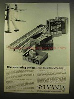1963 Sylvania Tote-Pack, Caddy-Pack Light Bulbs Ad
