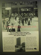 1963 New York State Ad - The Best Skilled Workers