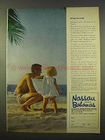 1963 Nassau and the Bahamas Ad - Bring The Kids