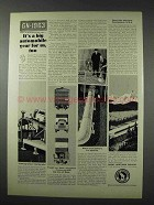 1963 Great Northern Railroad Ad - Big Automobile Year