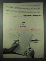 1963 Kimberly-Clark Watermarked Bond Paper Ad