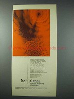 1963 Los Alamos Scientific Laboratory Ad - W. Thonson