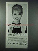 1963 Manpower Inc. Ad - My Card, Sir!