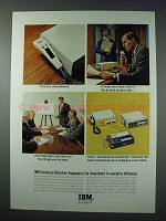 1963 IBM Executary Dictation Equipment Ad - A Convenience