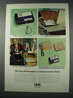 1963 IBM Executary Dictation Equipment Ad - Convenience