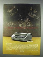 1963 IBM Selectric Typewriter Ad - No Ordinary