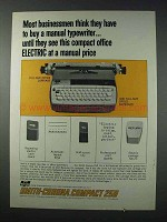 1963 Smith-Corona Compact 250 Typewriter Ad - Electric