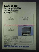 1963 Smith-Corona 33 Electrostatic Copier Ad - More