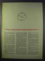 1963 Xerox Corporation Ad - What On Earth in Webster NY