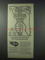1963 Friden Postage Machine Ad - Metered Mail Imprint