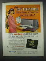1963 Apeco Electro-Stat Copier Ad - Copy Everything