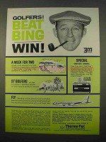 1963 3M Thermo-Fax Copying Machine Ad - Bing Crosby