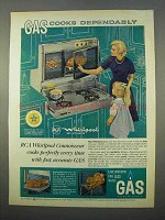 1963 American Gas RCA Whirlpool Connoisseur Range Ad