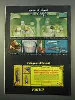 1963 Dixie Cup Ad - You Cut All This Out