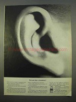 1963 Bufferin Tablets Ad - Can You Hear a Headache?
