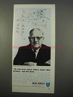 1963 Blue Shield Insurance Ad - People Know Business