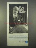 1963 Blue Cross Insurance Ad - Far Above the Average
