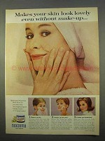 1963 Noxzema Skin Cream Ad - Makes Skin Lovely