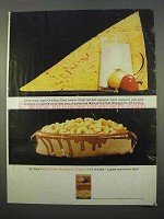 1963 Betty Crocker Macaroni & Cheddar Ad