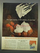1963 Carnation Instant Nonfat Dry Milk Ad - Whip