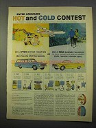 1963 Armour Ham Ad - Hot and Cold Contest
