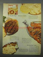 1963 Lipton Onion Soup Ad - Why Call It Soup?