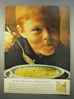 1963 Lipton Chicken Rice Soup Mix Ad - Which Came First