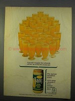 1963 Tang Drink Mix Ad - A Week's Supply for a Family