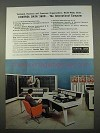 1963 Control Data 3600 Computer System Ad