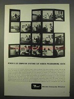 1963 Bendix G-20 Computer Ad - Cuts Programming Costs