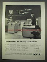 1963 NCR 315 Computer with CRAM Ad - Lockheed