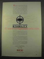 1963 NCR Computers Ad - Stability