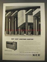 1963 NCR 406 Sorter-Comparator Ad - Not Just Another