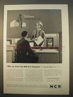 1963 NCR 315 Computer System Ad - Thalhimers