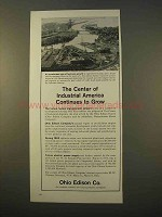 1963 Ohio Edison Co. Ad - Industrial America Grow