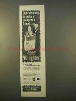 1963 Scripto Vu-Lighter Cigarette Lighter Ad - Friend