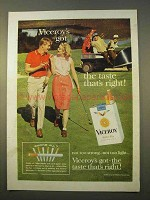 1963 Viceroy Cigarettes Ad - Got The Taste That's Right