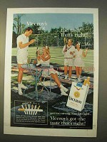 1963 Viceroy Cigarettes Ad - Got The Taste
