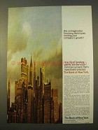 1963 The Bank of New York Ad - Financing Techniques