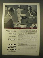1963 Sun Life Assurance Ad - From Your Stand-By Partner