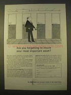 1963 The Equitable Life Assurance Ad - Important Asset