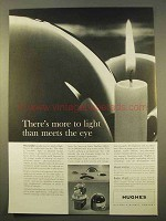 1963 Hughes Aircraft Ad - More To Light Than Meets Eye