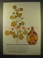 1963 Haig & Haig Pinch Scotch Ad - Money Grew on Trees