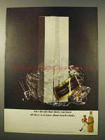 1963 Johnnie Walker Black Label Scotch Ad - Give Gift