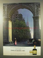 1963 Drambuie Liqueur Ad - Memories Are Made Of